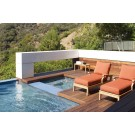cape outdoor chaise