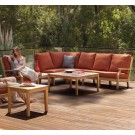 cape sectional outdoor seating group