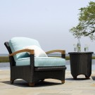 plantation outdoor reclining armchair