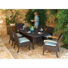 plantation outdoor 7 piece dining set