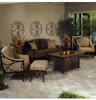 Casual Fireside Viento Fire Pit